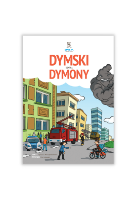 """Komiks """"Dymski kontra dymony"""""""
