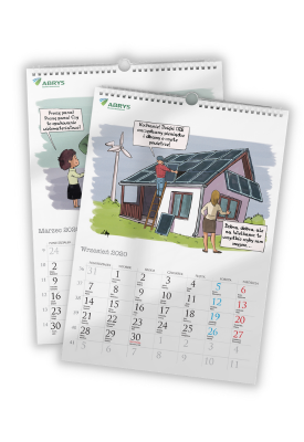 Kalendarz ścienny 2022 -...