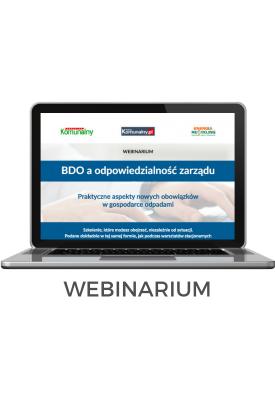 """Webinarium """"BDO a..."""
